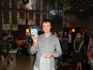 2 место Павел Ларионов