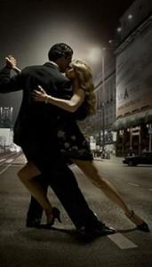 """Танго на открытом воздухе """"Огни ночного города"""""""