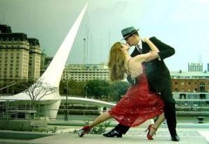 """Танго на открытом воздухе """"Добрый ветер"""""""