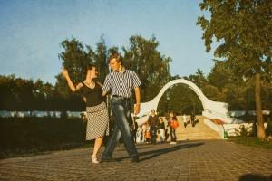 Танго на открытом воздухе Volver